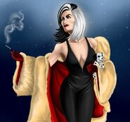 Cruella devil once upon a time