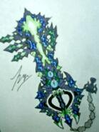UnderDweller Keyblade by ExusiaSword