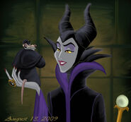 Maleficent and Ratigan