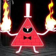 Bill cipher red