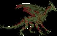 The horned king dragon