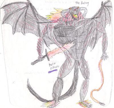 Durin's Bane Balrog