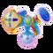 Farbpistole H.-blau 3D