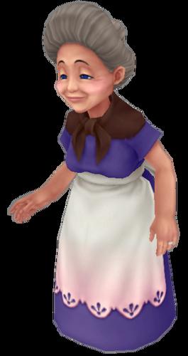 Die Großmutter von Kairi in Kingdom Hearts: Birth by Sleep