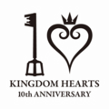 Kingdom Hearts 10 Jahre Jubiläums Box Logo