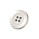 Weißer Knopf BBS