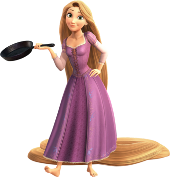 Rapunzel in Kingdom Hearts III
