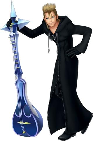 Demyx in Kingdom Hearts II