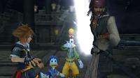 Sora und Jack an Bord der Black Pearl KHII