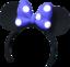 Kopf - Minnie-Ohren (blau) KH0.2