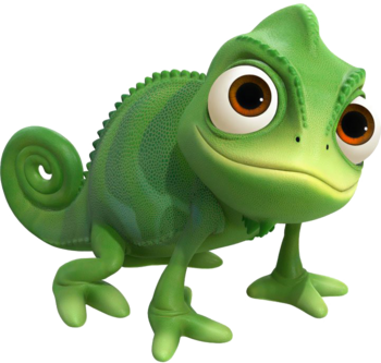 Pascal in Kingdom Hearts III