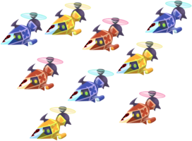 Colorful Copter Fleet KHχ