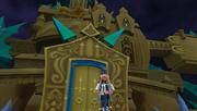Aqua vor dem Schloss des Entfallens BBS