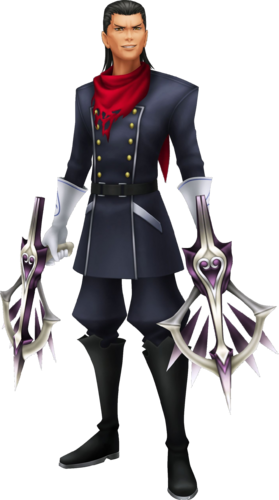 Der noch unvernarbte Braig in Kingdom Hearts: Birth by Sleep