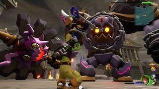 Kingdom Hearts 3 Boss 2 Rock Troll