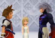 Sora, Repliku und Naminé 01 ReCOM