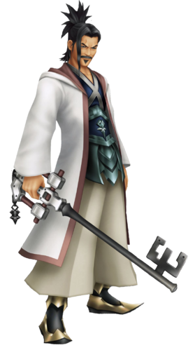 Meister Eraqus in Kingdom Hearts: Birth by Sleep