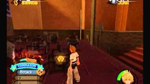 Kingdom Hearts 2 Minigame 6 Junk Sweep
