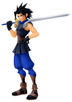Zack in Kingdom Hearts: Birth by Sleep