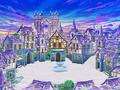 Daybreak Town im Winter (Artwork) KHχ