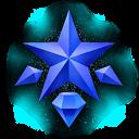 Achatkristall KHII
