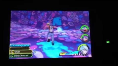 Kingdom Hearts 3D Riku Boss Fight-Char Clawbster