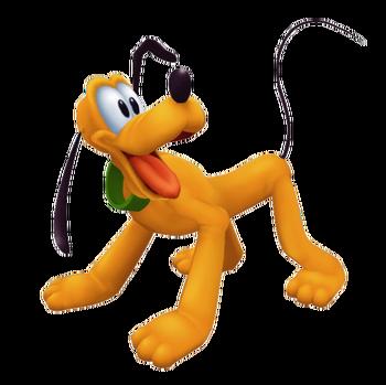 Pluto in Kingdom Hearts