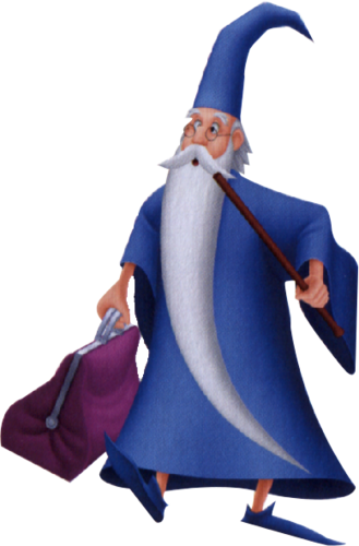 Merlin in Kingdom Hearts: Birth by Sleep
