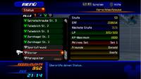 Bildschirm für das Status Menü ReCoM
