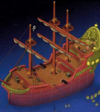 Hooks Piratenschiff (Artwork)