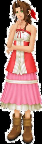 Aerith in Kingdom Hearts II