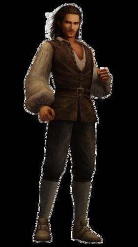 Will Turner in Kingdom Hearts II