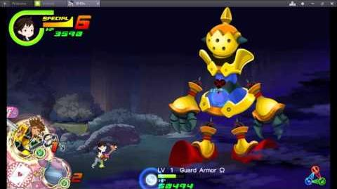 Kingdom Hearts Unchained X (Chi) Boss 6 Guard Armor Omega