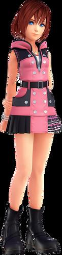 Kairi in ihrer Erscheinung in Kingdom Hearts III