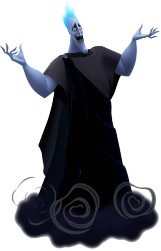 Hades in Kingdom Hearts III