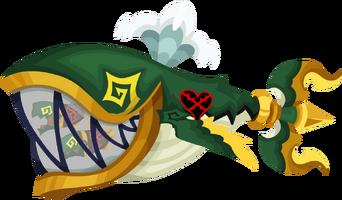 Trident Anchor (Grün) KHχ