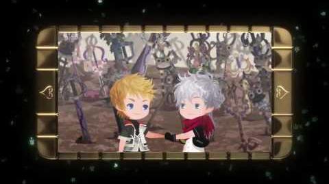 Kingdom Hearts Union X Trailer W English Subtitles