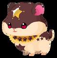 Chocolate Hamstar (Geist) KHUx