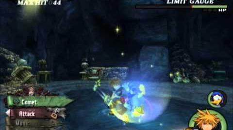 Kingdom Hearts II Final Mix - Port Royal Barbossa & Illuminator