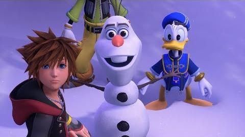 KINGDOM HEARTS III – E3 2018 Frozen Trailer-0