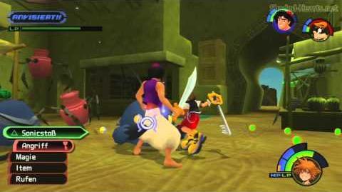 Kingdom Hearts Final Mix HD - Bosskampf Arachnovicta 1080p