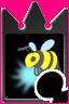 Honig Biene (Karte)