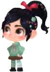 Vanellope in Hearts Union χ