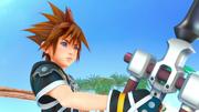 Sora und der Meister Beschützer KHIII