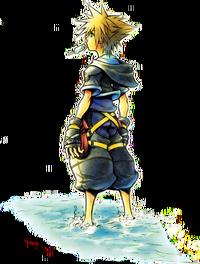 Sora Startbildschirm Artwork KHII