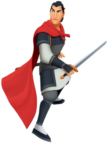 Hauptmann Li Shang in Kingdom Hearts II
