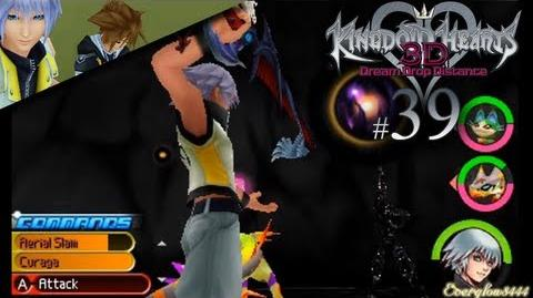 HD • 39 Armored Ventus Nightmare - Kingdom Hearts 3D Dream Drop Distance - Critical Mode