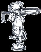 Sora (Früher Entwurf) 1 (Artwork)
