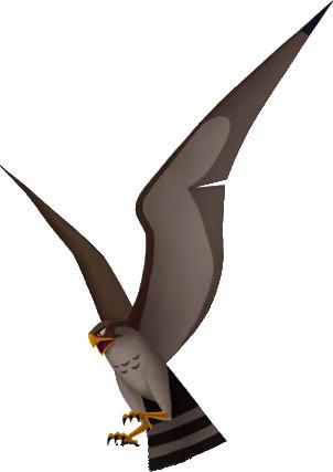 Hayabusa der Falke von Shan-Yu in Kingdom Hearts II