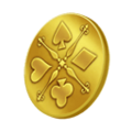 Krieger-Münze KHII
